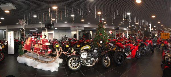 Ducati Zaltbommel kleurt extra rood met actie