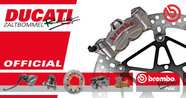 Ducati Zaltbommel gecertificeerd als Brembo Racing Point
